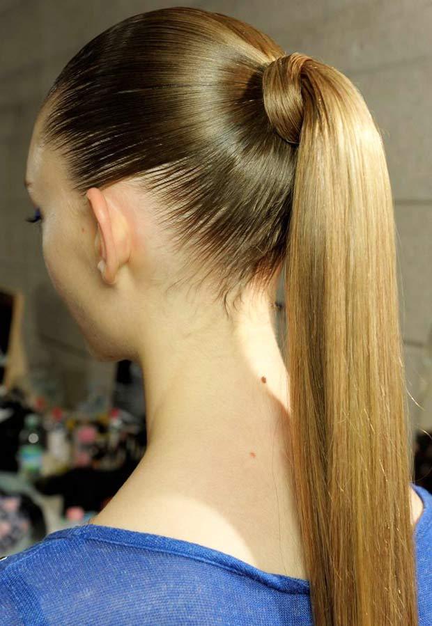Làm tóc đuôi ngựa mê ly như Thanh Hằng - 1