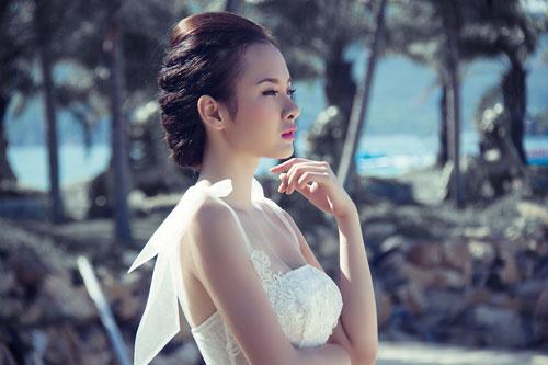 Ảnh cưới lãng mạn của Phương Trinh - 1
