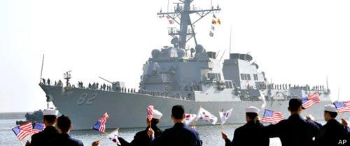 Mỹ - Hàn tập trận, Triều Tiên nổi giận - 1