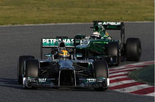 Hamilton đã quên hẳn McLaren - 1