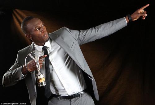 Usain Bolt giành giải thưởng Laureus - 1