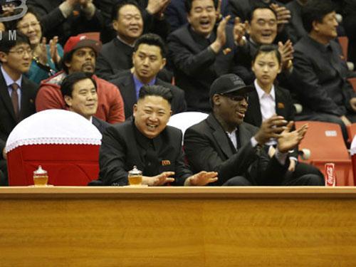 Cựu sao bóng rổ Mỹ sắp đi nghỉ cùng Kim Jong-un - 1