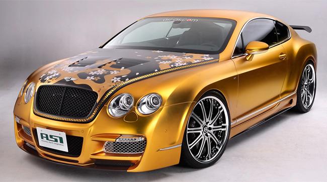 Những chiếc siêu xe mạ vàng không còn quá xa lạ trên thế giới