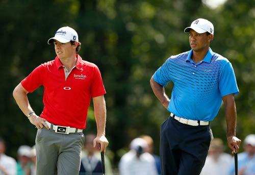 Tiger Woods sắp soán ngôi McIlroy - 1