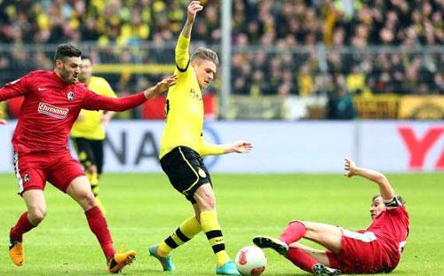 Dortmund - Freiburg: Sức mạnh khó cưỡng - 1