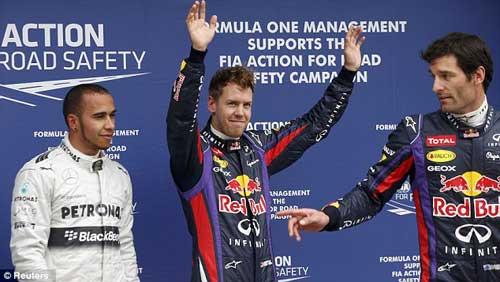 Phân hạng Australian GP: Vettel đoạt pole - 1