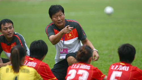 HLV ĐT nữ Việt Nam muốn vào top 5 châu Á - 1
