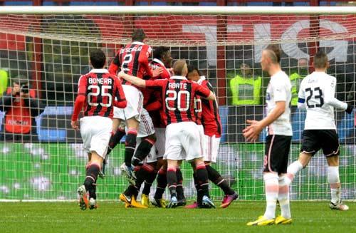 Milan – Palermo: Sân khấu của Balo - 1