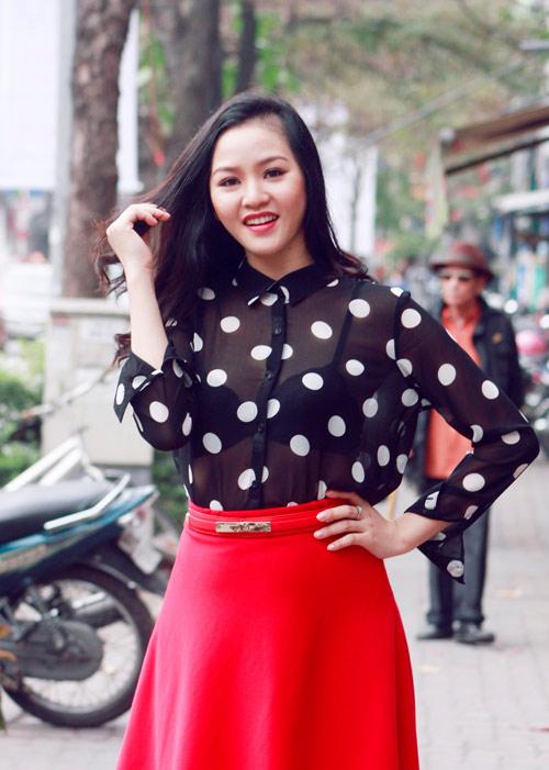 Bắt gặp Phan Thị Lý trên phố Hà Nội - 1