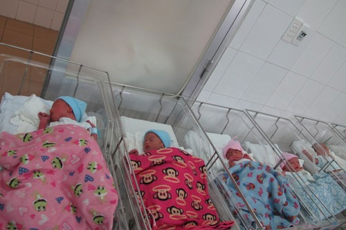 Sản phụ sinh 5 tại Bệnh viện Từ Dũ - 1