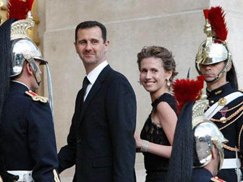 Vợ Tổng thống Syria bất ngờ xuất hiện - 1