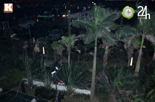 Nửa đêm, fan Việt ôm hàng rào ngóng sao Hàn - 1