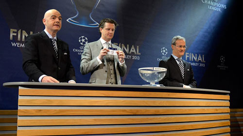 UEFA bị tố dùng tiểu xảo bốc thăm C1 - 1