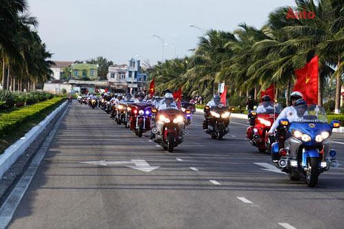 """300 xe PKL """"quần hùng"""" tại Đại hội môtô Đà Nẵng - 1"""