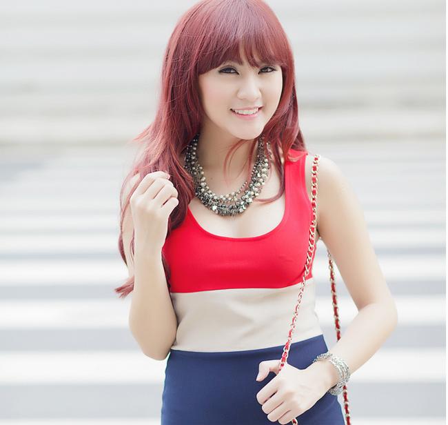 Kelly, bạn thân của hot girl Sam cũng là một trong nhũng hot girl đình đám Sài thành