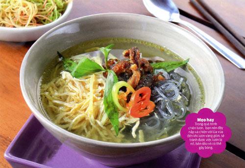 Bát miến dong nấu lươn chiên dai giòn - 1