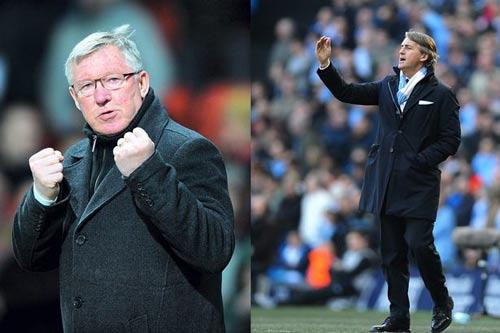 Ferguson khuyên Man City giữ Mancini - 1