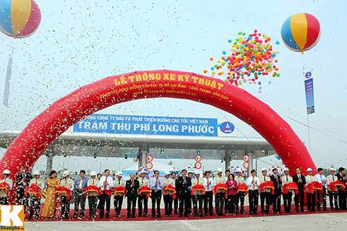 Thông xe cao tốc TP.HCM-Long Thành-Dầu Giây - 1