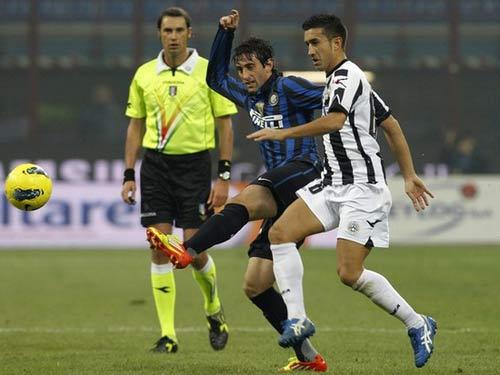 Udinese – Inter: Đòn duy nhất - 1
