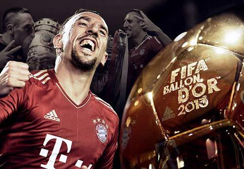 Ribery hồi hộp chờ đợi QBV FIFA - 1
