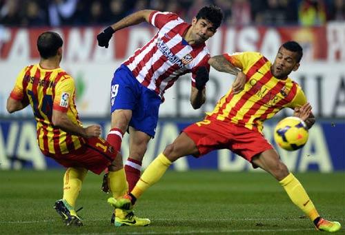 Atletico – Barca: Bức tường thép - 1