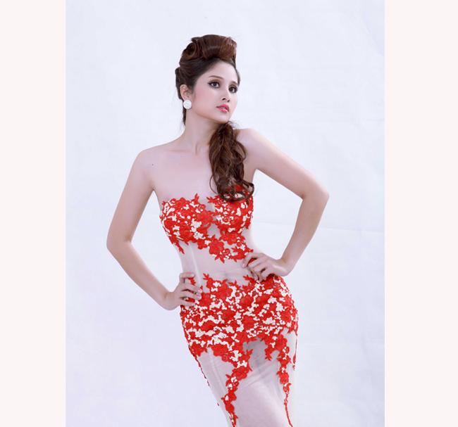 Cô liên tiếp tham gia các cuộc thi Next Top Model