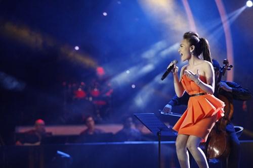 Mỹ Tâm sửng sốt vì thí sinh Vietnam Idol - 1