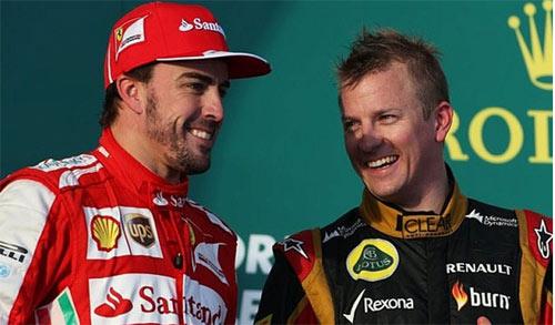 F1: Ferrari và canh bạc Alonso - Raikkonen - 1