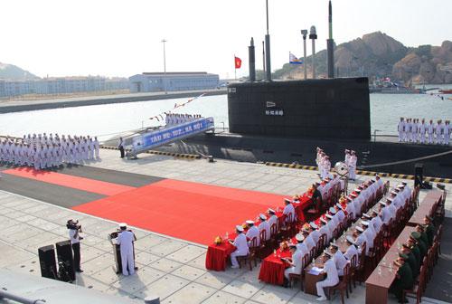 Lễ tiếp nhận tàu ngầm HQ-182 Hà Nội - 1