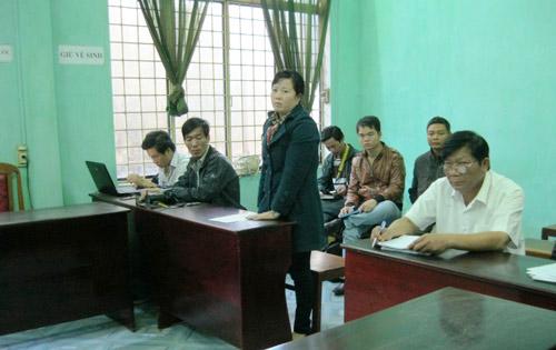 """Vụ """"bắt giam hòn đá"""": UBND huyện thua kiện - 1"""