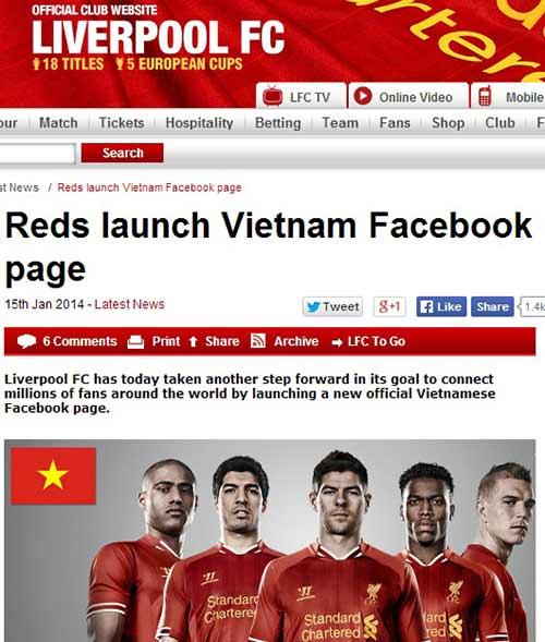Liverpool úp mở về khả năng đến Việt Nam - 1