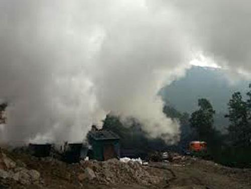 Cháy lò than, 6 người thiệt mạng - 1