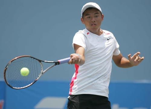 Lý Hoàng Nam vào vòng 2 đôi nam Giải quần vợt trẻ Copa Gatorade 2014 - 1