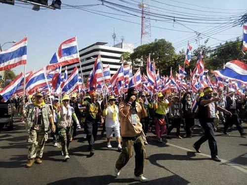 Thái Lan: Áo Đỏ tích trữ vũ khí bảo vệ Thủ tướng - 1