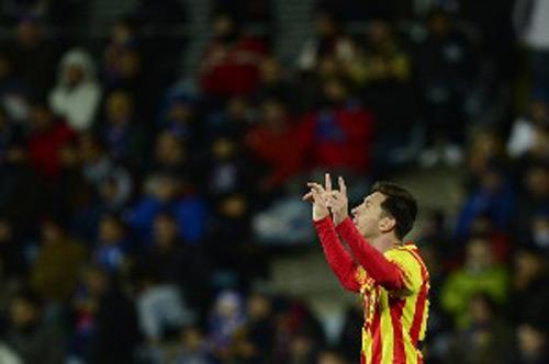 Getafe - Barca: Ngôi sao tỏa sáng - 1