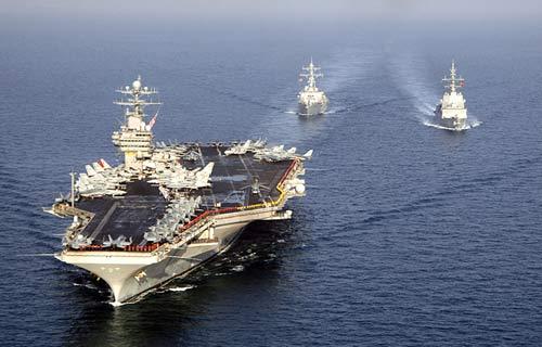 Mỹ điều thêm tàu sân bay sang châu Á đối phó TQ - 1