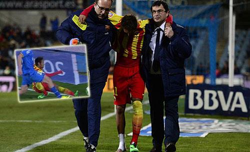 "Messi mong Neymar ""tai qua nạn khỏi"" - 1"