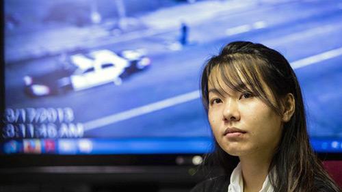 Thiếu nữ gốc Việt tố bị CS Mỹ hiếp dâm trên xe - 1
