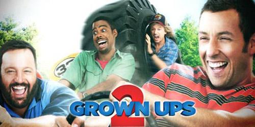 """8 đề cử """"Mâm xôi Vàng"""" cho phim Grown ups 2 - 1"""