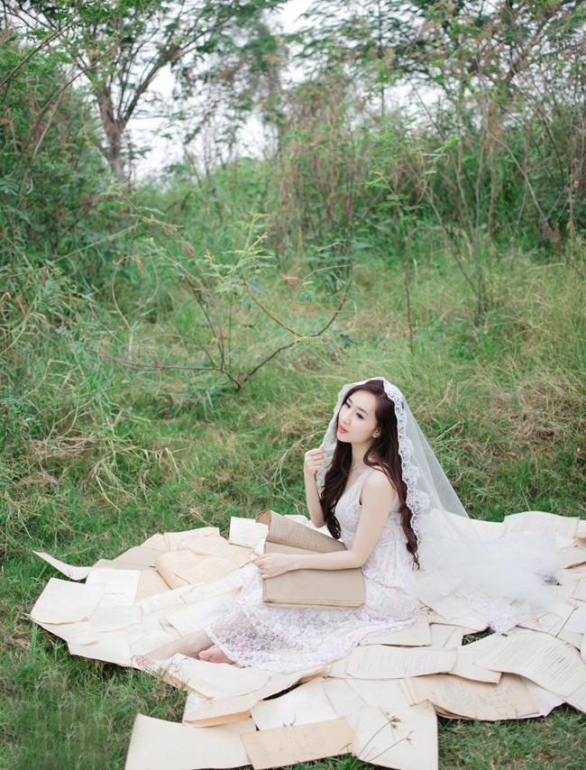 Hình ảnh dễ thương của cô hot girl Sài thành