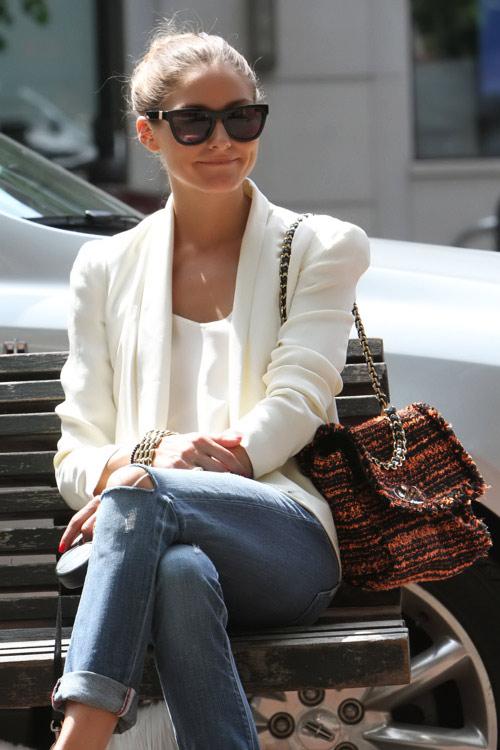 Thèm thuồng ngắm túi xách của Olivia Palermo - 1
