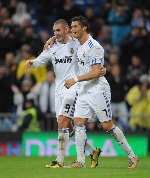 Ronaldo & Benzema giúp Real lập kỉ lục - 1