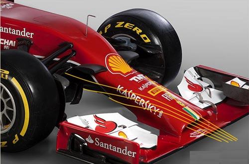 F1: Ferrari trình làng phiên bản 2014 - 1