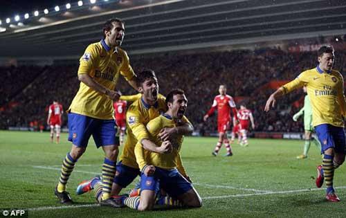 Southampton - Arsenal: Diễn biến khó lường - 1