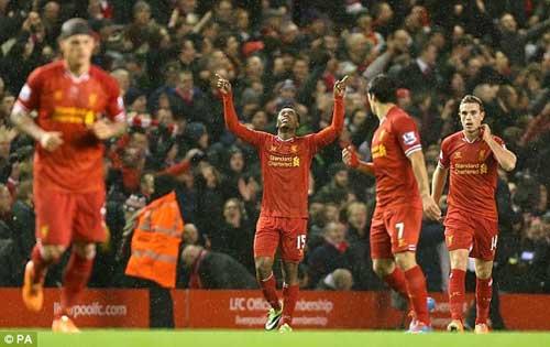 Liverpool-Everton: Kết cục chóng vánh - 1