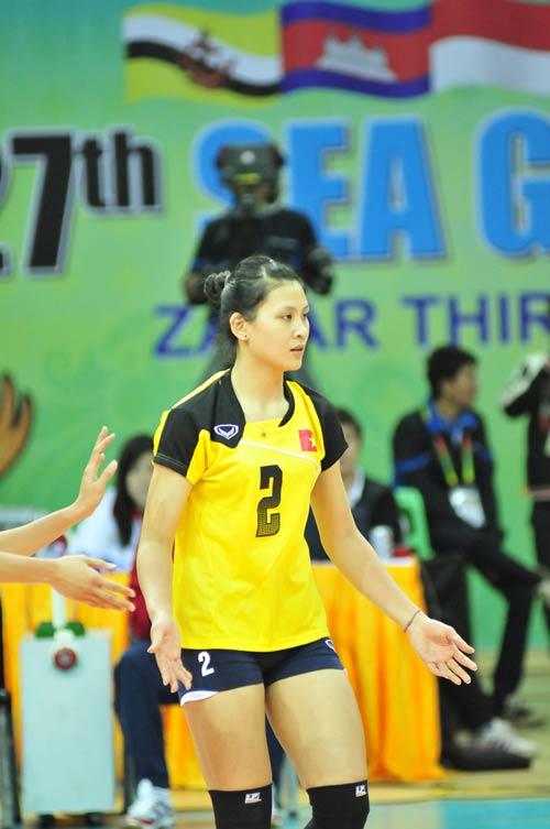 Các nữ VĐV xinh đẹp của thể thao Việt Nam - 1
