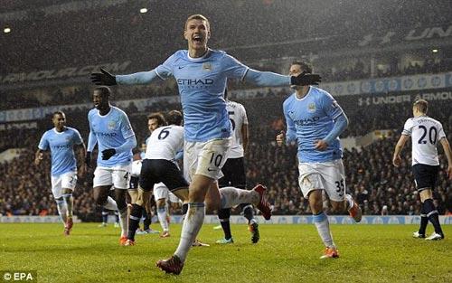 Tottenham–Man City: Sụp đổ chóng vánh - 1