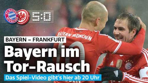 Bayern - Frankfurt: Khoe nanh múa vuốt - 1