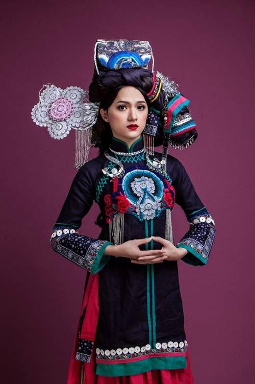 Bất ngờ Hương Giang hóa cô gái dân tộc - 1