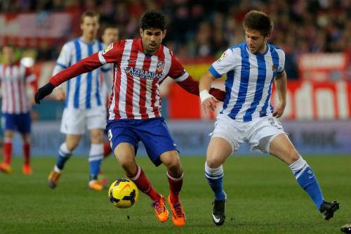 Atletico vượt Barca & Real chiếm ngôi đầu - 1